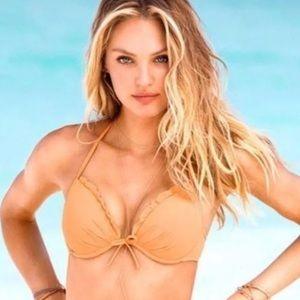 💚Victoria's Secret Push Up Ruffle Fabulous Bikini